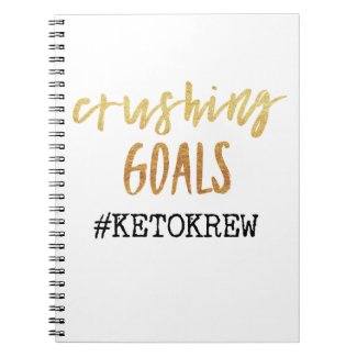 Crushing Goals Notebook
