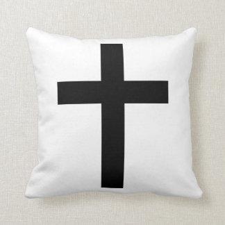 crusifixo almofada pillows