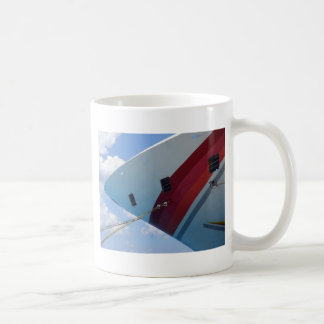 Crusing from a different angle. coffee mug