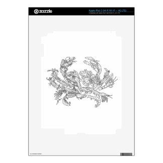 Crustaceans Decals For iPad 3