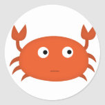 crustáceo confuso etiqueta