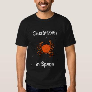 Crustáceo en espacio playera
