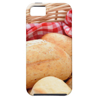 Crusty bread rolls iPhone SE/5/5s case