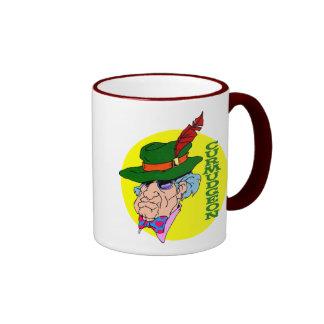 Crusty Curmudgeon Ringer Coffee Mug