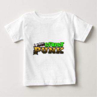Crusty Punkrock Punk music CRUST PUNK Baby T-Shirt