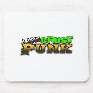 Crusty Punkrock Punk music CRUST PUNK Mouse Pad