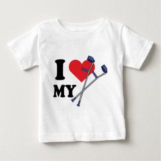 Crutch Love Baby T Baby T-Shirt
