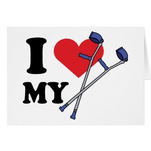 Crutch Love Cards