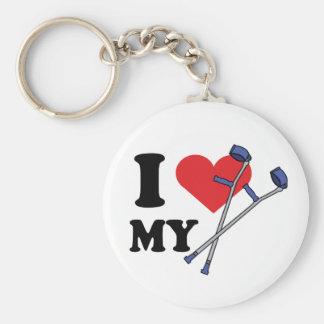 Crutch Love Keychains