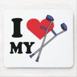 Crutch Love Mousepad