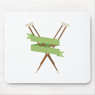 Crutches Mouse Pad