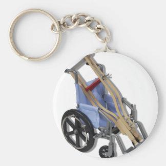 CrutchesWheelchair081210 Basic Round Button Keychain