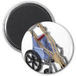 CrutchesWheelchair081210 Refrigerator Magnet