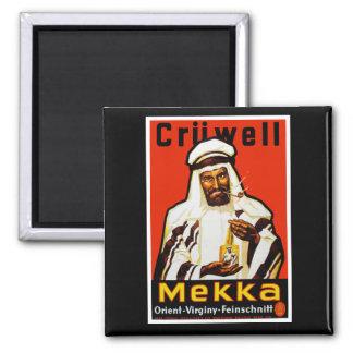 Cruwell Mekka Tobacco 2 Inch Square Magnet