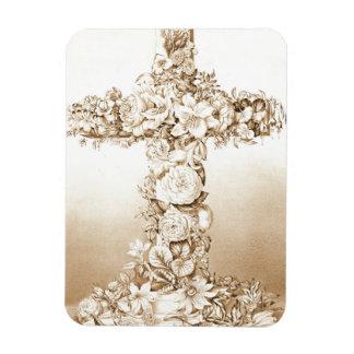 Cruz 1869 de Pascua Imán Flexible