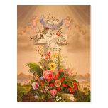 Cruz 1875 de Pascua de la caridad de la esperanza  Postales