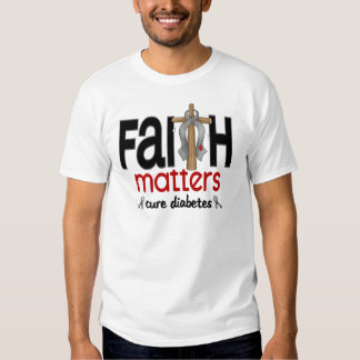Cruz 1 de las materias de la fe de la diabetes polera