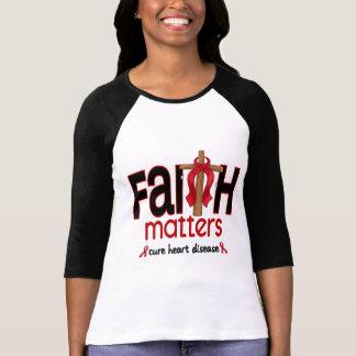 Cruz 1 de las materias de la fe de la enfermedad remeras