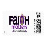 Cruz 1 de las materias de la fe de la epilepsia sellos