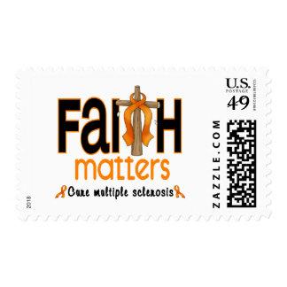 Cruz 1 de las materias de la fe de la esclerosis m