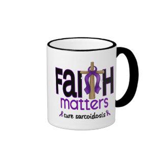 Cruz 1 de las materias de la fe de la sarcoidosis taza
