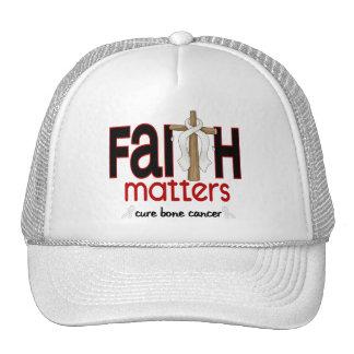 Cruz 1 de las materias de la fe del cáncer de hues gorro de camionero