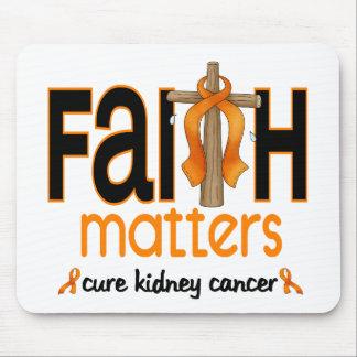 Cruz 1 de las materias de la fe del cáncer del riñ tapete de raton