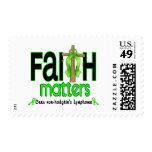 Cruz 1 de las materias de la fe del linfoma de franqueo
