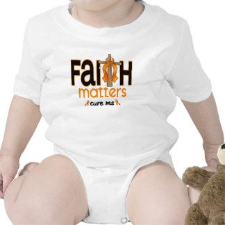 Cruz 1 de las materias de la fe del ms trajes de bebé