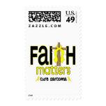 Cruz 1 de las materias de la fe del sarcoma sello