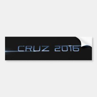 Cruz 2016 pegatina para auto