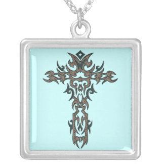 Cruz adornada cristiana 17 collares