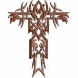 Cruz adornada cristiana 4 esculturas fotograficas