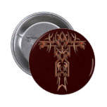 Cruz adornada cristiana 4 pin