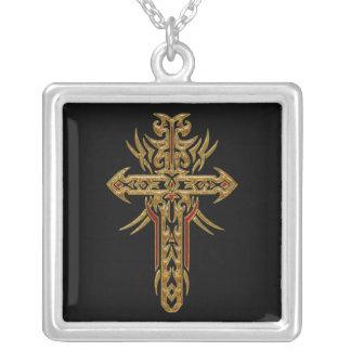 Cruz adornada cristiana 71 joyería