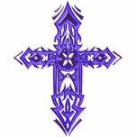 Cruz adornada cristiana 75 escultura fotográfica