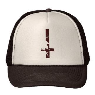 Cruz al revés gorra