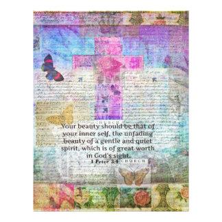 Cruz, arte de la escritura, fe del arte del verso plantillas de membrete