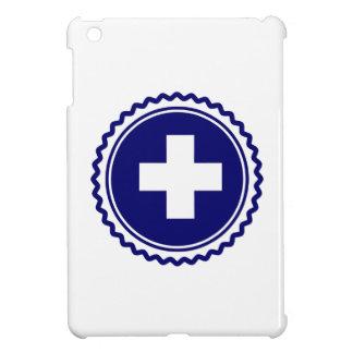 Cruz azul de la atención sanitaria del primer