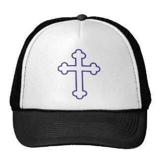 cruz azul de los apóstoles gorro de camionero