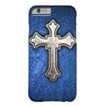 Cruz azul funda de iPhone 6 slim