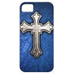 Cruz azul iPhone 5 Case-Mate cárcasa