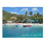 Cruz Bay, St. John USVI Postcard