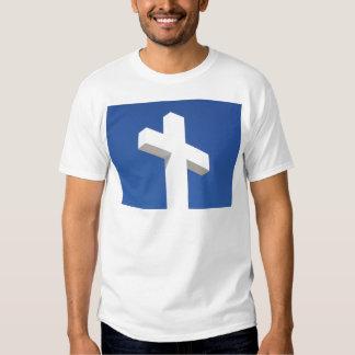 Cruz blanca remeras