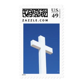 Cruz blanca sello