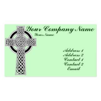 Cruz céltica 1 tarjetas de visita