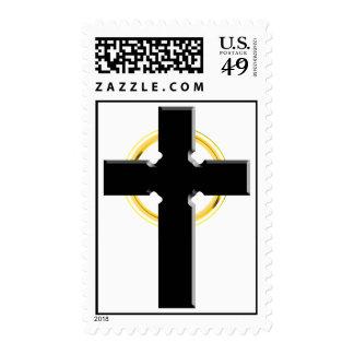 cruz céltica 3D Sellos
