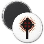 Cruz céltica #5 iman de nevera