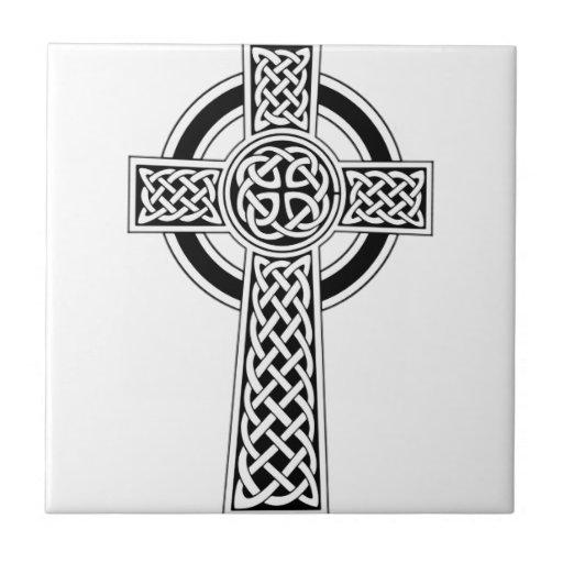 Cruz céltica azulejo