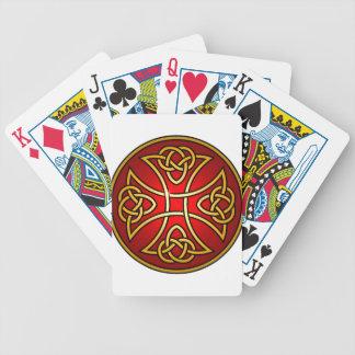 Cruz céltica baraja de cartas